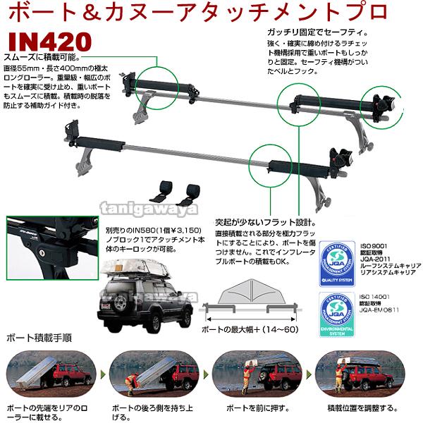 IN420 ボートアタッチメント プロ:inno(イノー)カーメイト製: